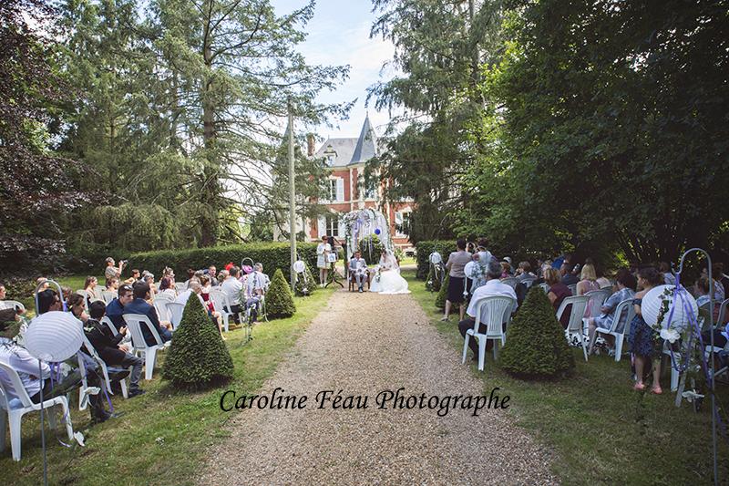 cérémonie laïque domaine de la Gourdinière 72 Sarthe CF Photographe