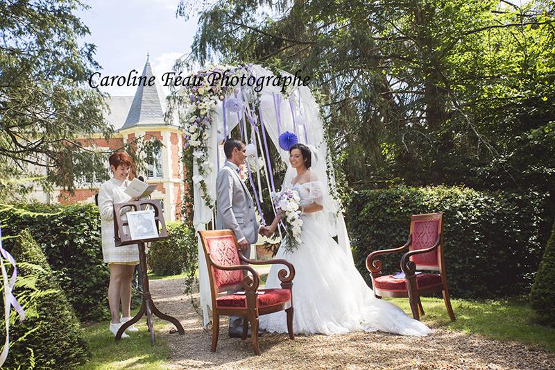 cérémonie laïque domaine de la Gourdinière Sarthe 72 CF Photographe