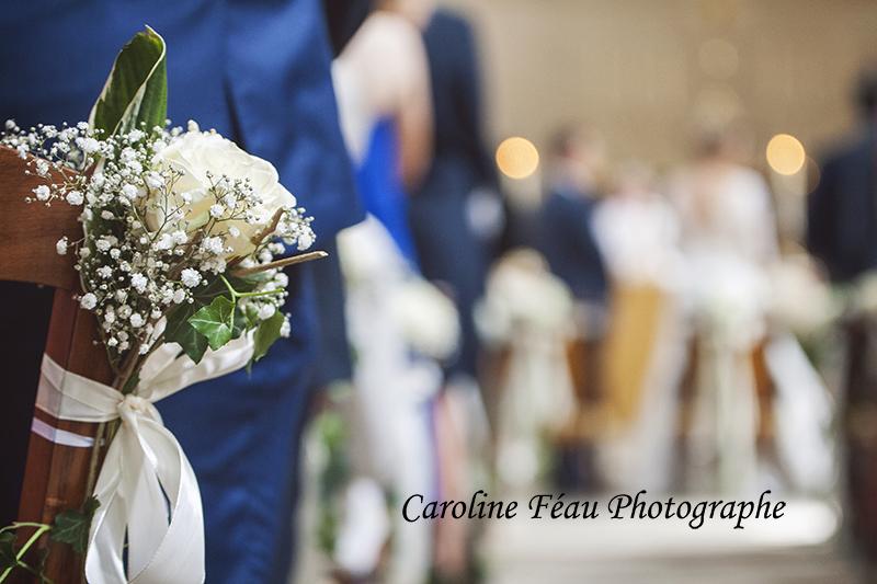 fleurs église Candes Saint Martin CF Photographe