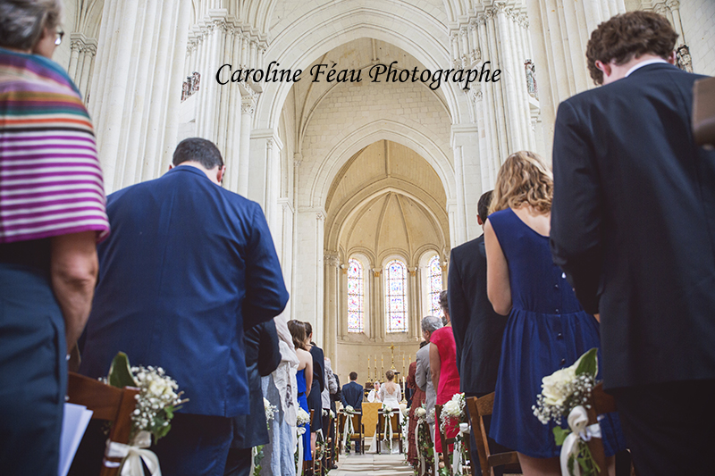 mariage collégiale Candes Saint Martin CF Photographe