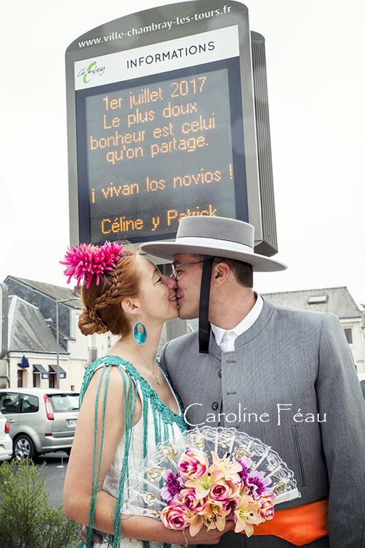 photographe mariage affichage Chambray les Tours CF Photographe