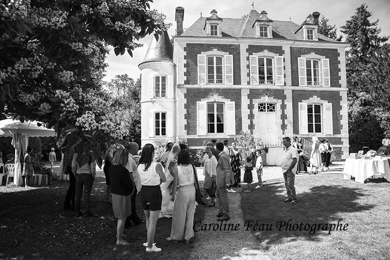 Vin d'honneur domaine de la Gourdinière Moncé en Belin Sarthe 72 CF Photographe
