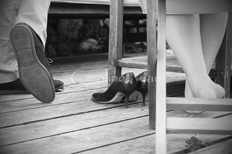 photographe mariage tours détail pieds CF Photographe
