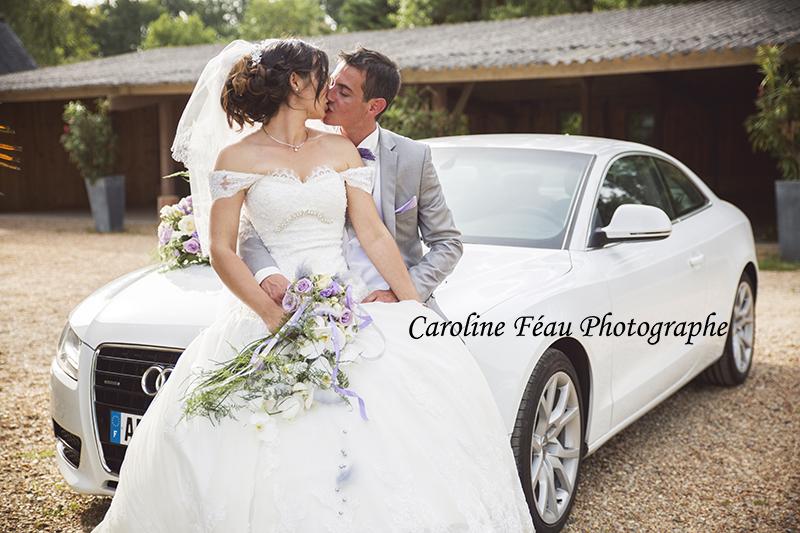 baiser passionné des mariés CF Photographe