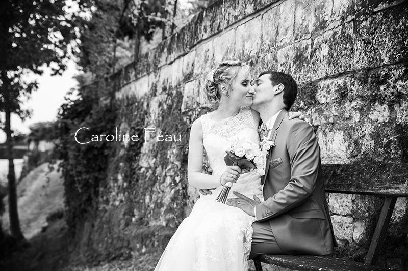 mariés bord de loire CF Photographe