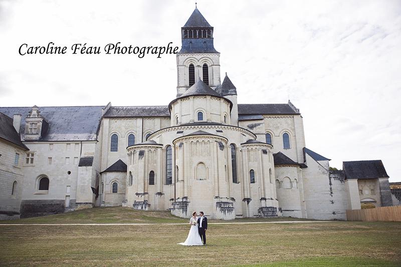mariage à l'Abbaye de Fontevraud CF Photographe