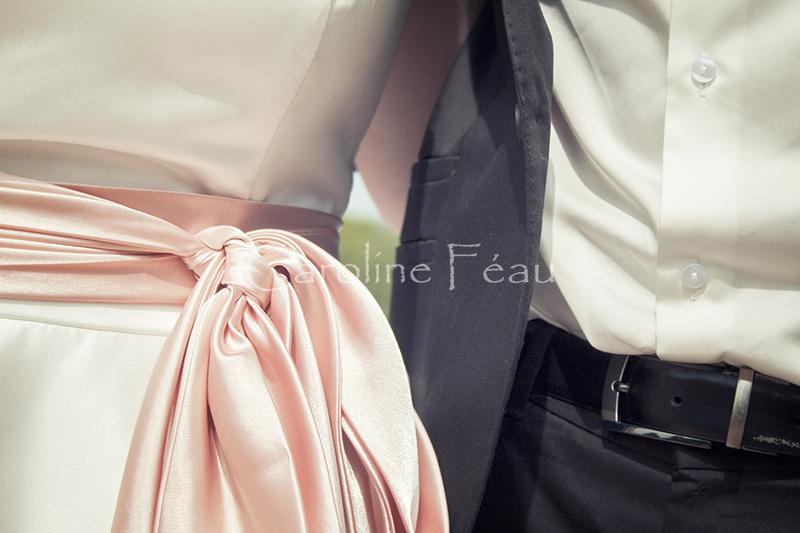 photographe mariage 37 detail ceinture CF Photographe