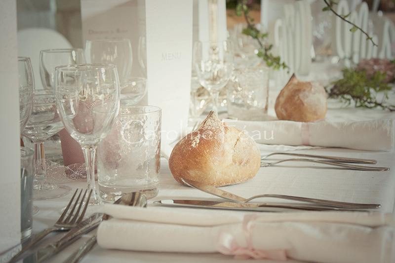 photographe mariage indre et loire déco table CF Photographe