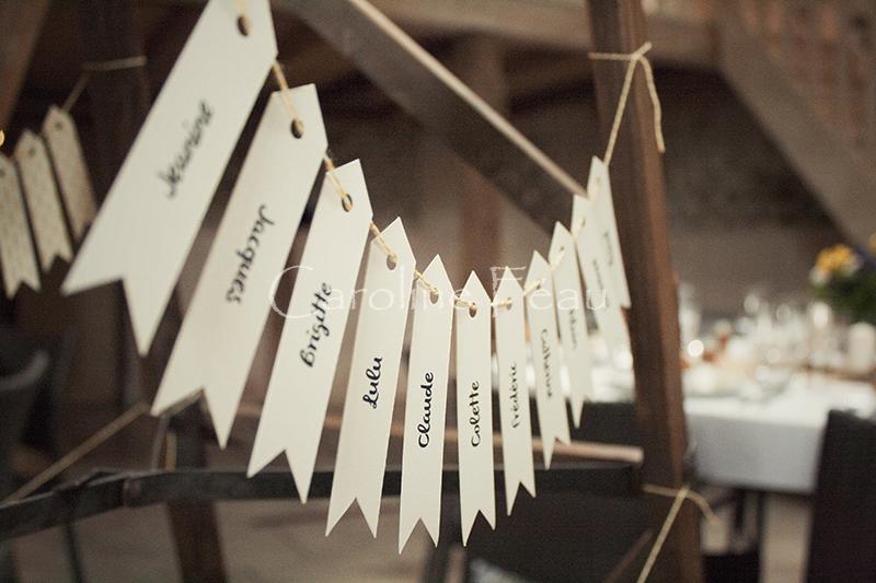 photographe mariage plan table CF Photographe