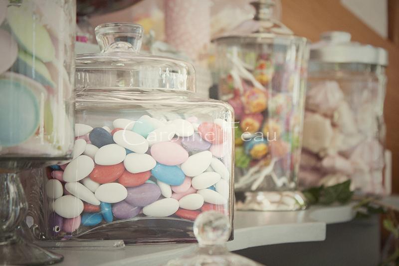 photographe mariage tours candy bar CF Photographe