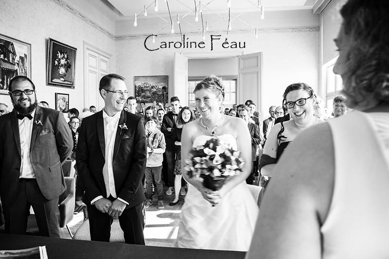 mairie Sainte Maure de Touraine mariage bonne humeur CF Photographe