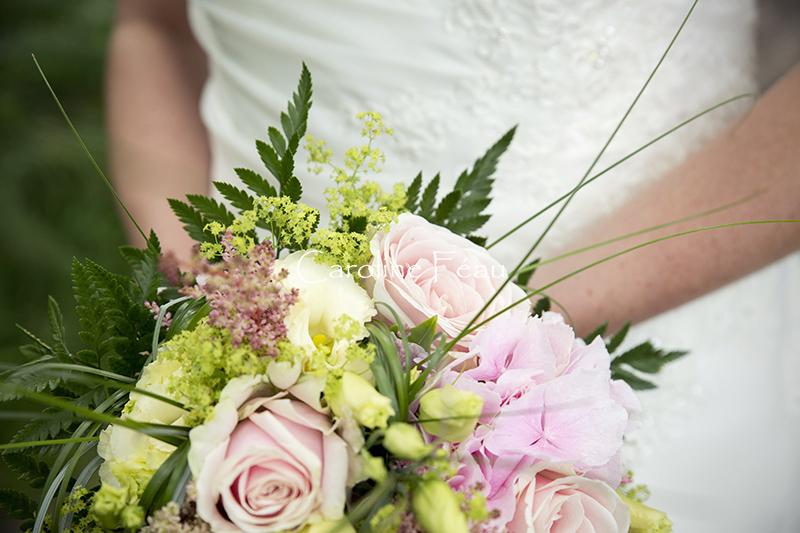 photographe mariage 37 bouquet mariée CF Photographe
