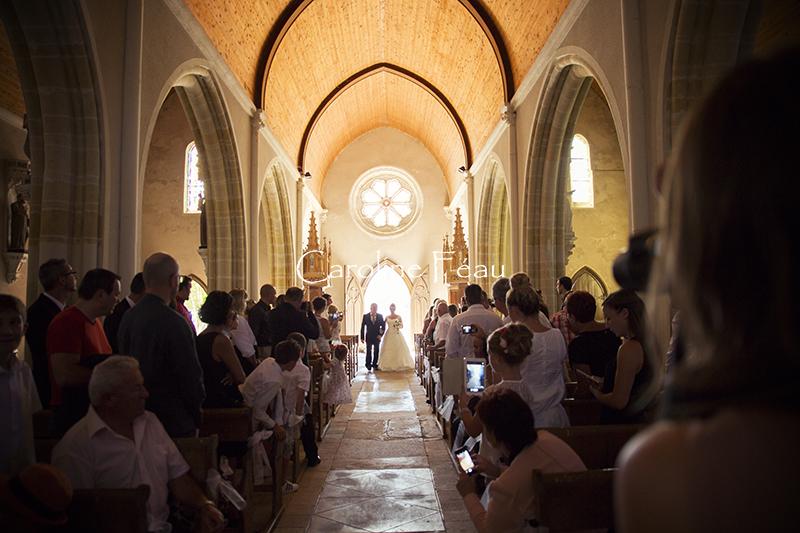 photographe mariage entrée eglise CF Photographe
