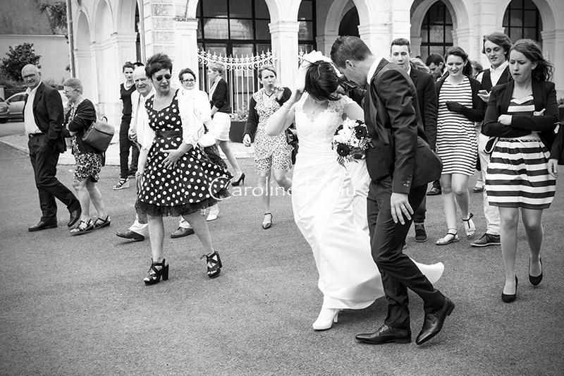 photographe mariage indre et loire cortège CF Photographe