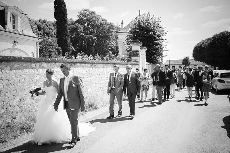 photographe mariage tours cortège CF Photographe