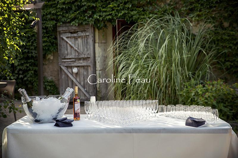 vin d'honneur la racaudière CF Photographe