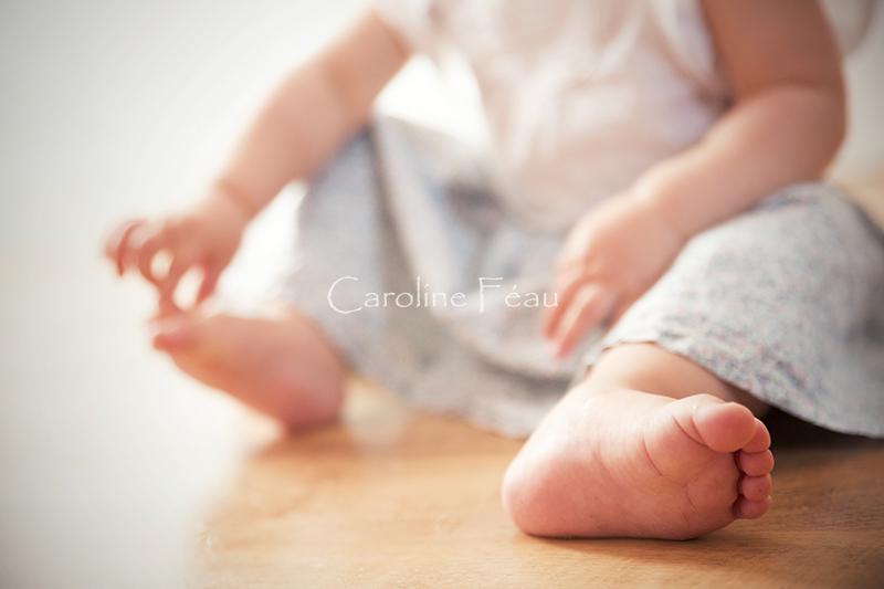 photographe indre et loire enfant pied CF Photographe