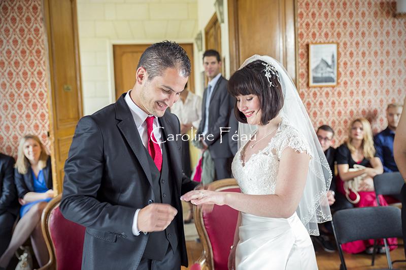 photographe mariage indre et loire mairie CF Photographe
