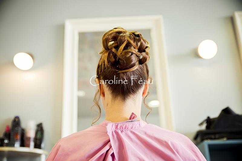 Photographe mariage 37 coiffure mariée CF Photographe