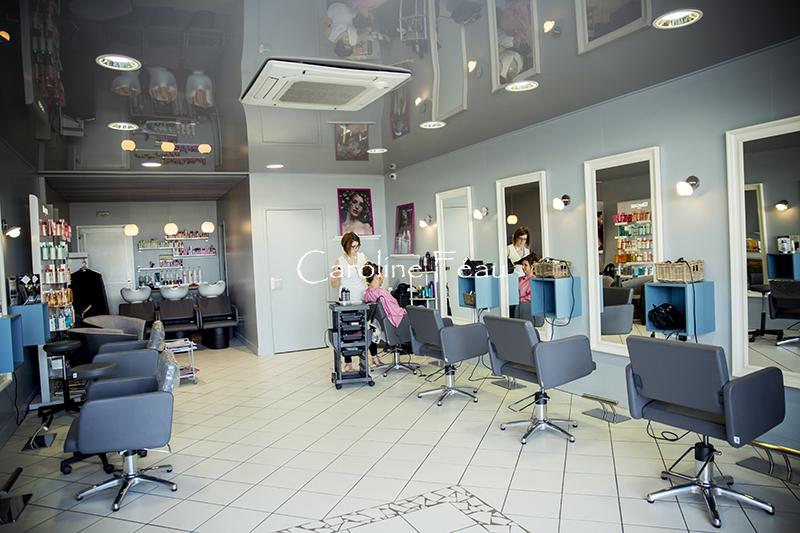 Photographe mariage 37 salon coiffure CF Photographe