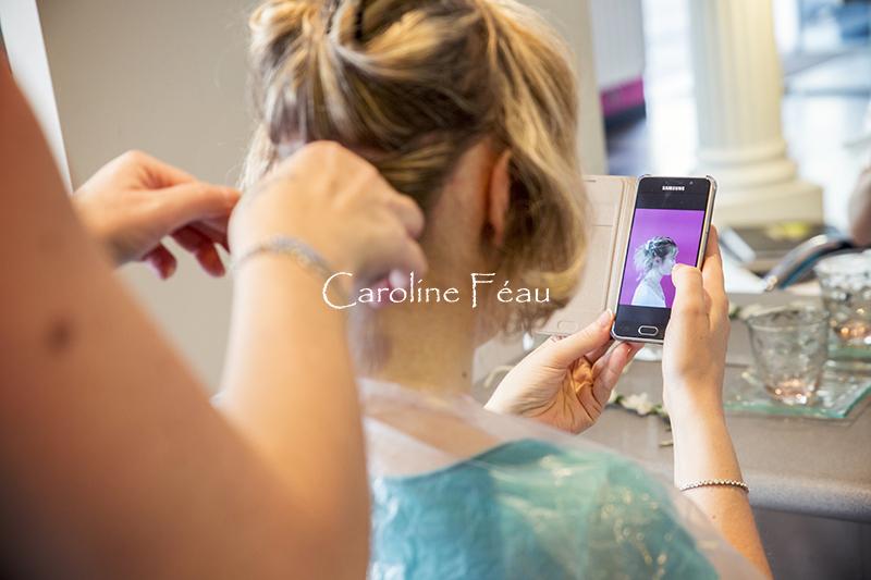 coiffure mariée Bourgueil CF Photographe