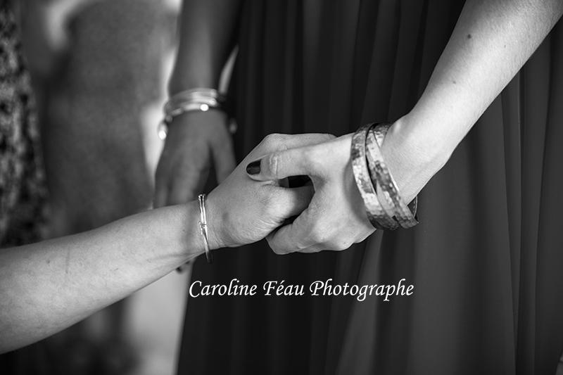 entre soeurs mariage CF Photographe
