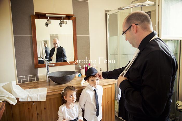 photographe mariage 37 préparatifs CF Photographe