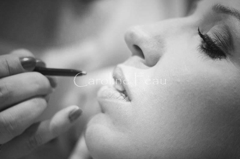 photographe mariage maquillage mariée CF Photographe