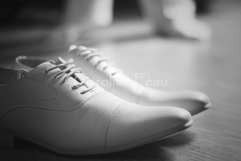 photographe mariage touraine chaussures CF Photographe