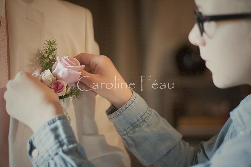 photographe mariage tours boutonnière CF Photographe