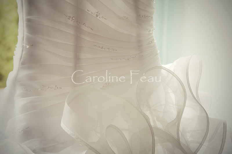 photographe robe mariée détail CF Photographe