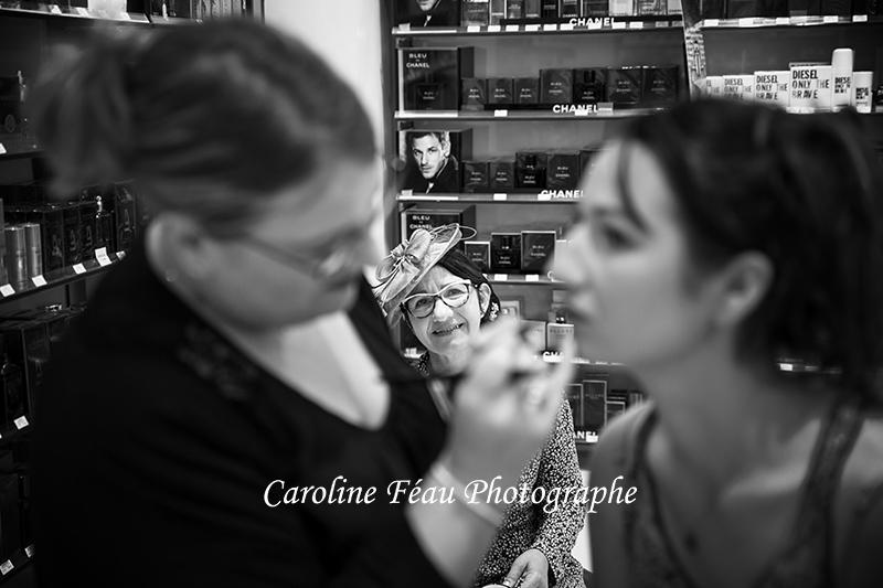 regard de la maman photo mariage CF Photographe