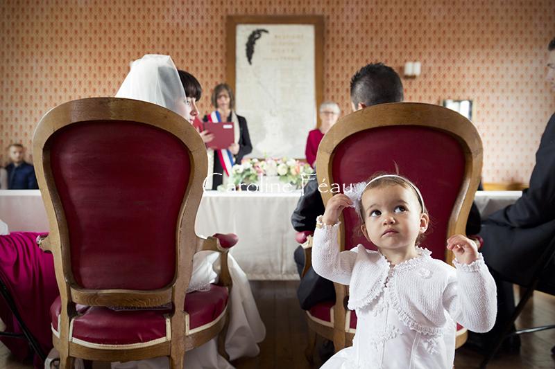 photographe baptême 37 mairie CF Photographe