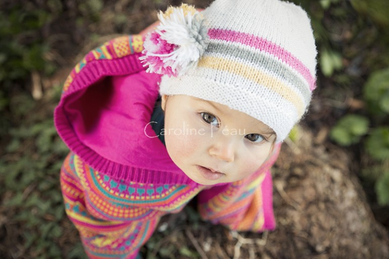 séance photo enfant 1 an