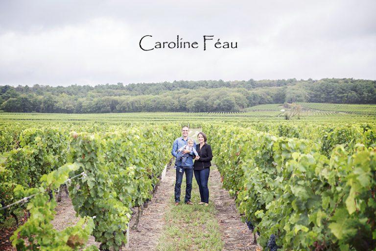photographe famille balade vignes 37 CF Photographe