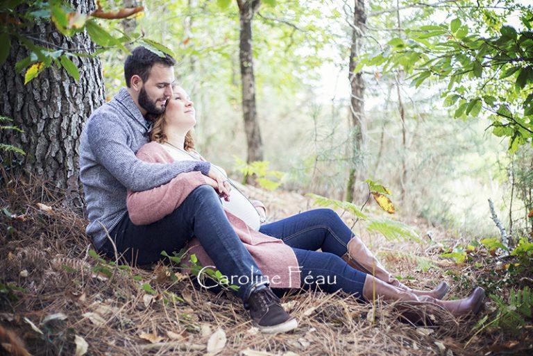 Clémence, 7ème mois de grossesse