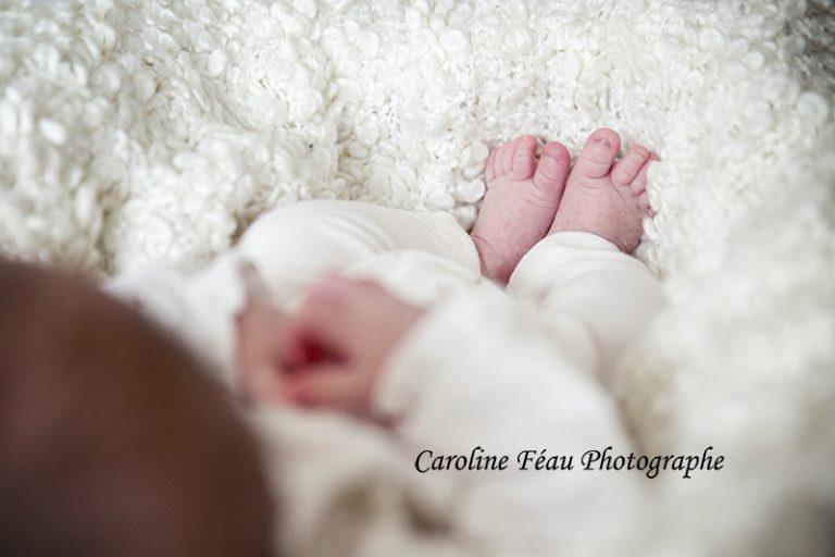 séance bébé veigné CF Photographe