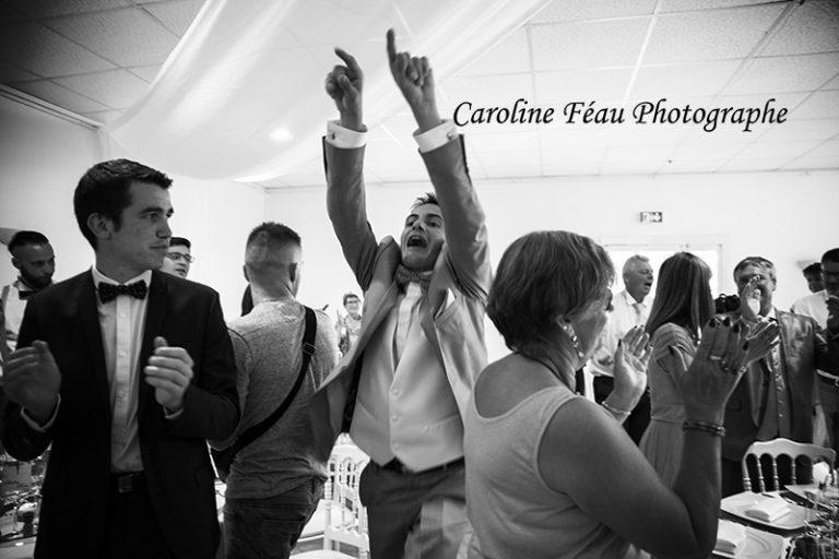 entrée en salle du marié soirée mariage CF Photographe
