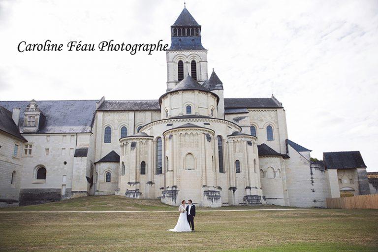 Maria et Martin, mariage à l'Abbaye de Fontevraud