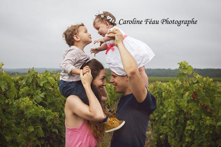 En famille, au cœur des vignes