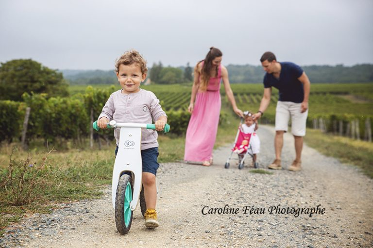 photographe famille vigne à Benais 37 CF Photographe