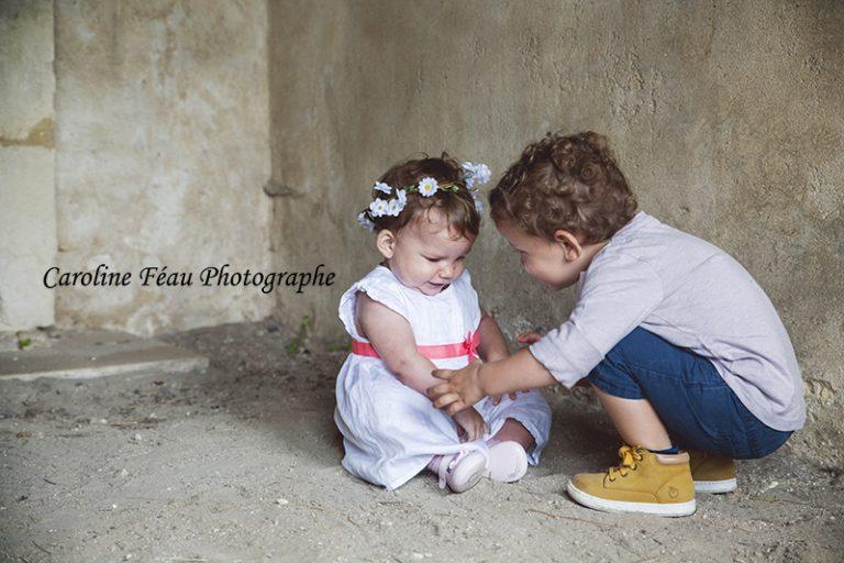 séance portrait enfant Tours CF Photographe