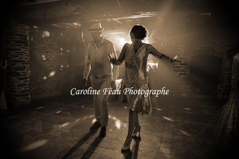 Première danse de mariage thème années 20 CF Photographe