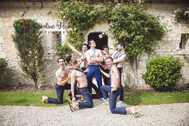 groomteam témoins du marié CF Photographe