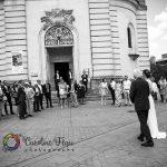 arrivée de la mariée à l'église Tours Indre et Loire 37 CF Photographe