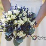 bouquet de mariée chic champêtre bohème CF Photographe