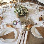 décoration de table mariage chic et champêtre CF Photographe