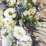 décoration florale table des mariés CF Photographe