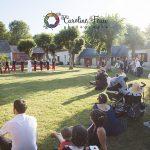 danse surprise des invités du mariage Domaine de la Bergerie CF Photographe