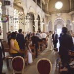 entrée de la mariée église Christ Roi Tours 37 CF Photographe